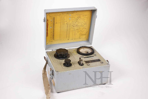 US signal corps output meter