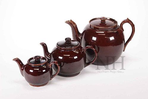 Brown betty tea pots