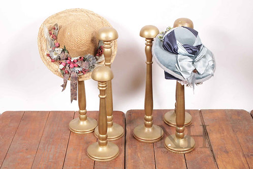 Wooden hat stand