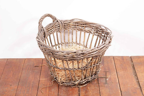 One handled basket