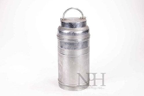 Metal flask