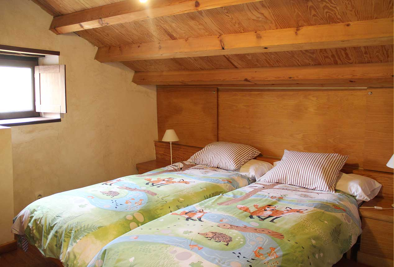Habitación con camas extra