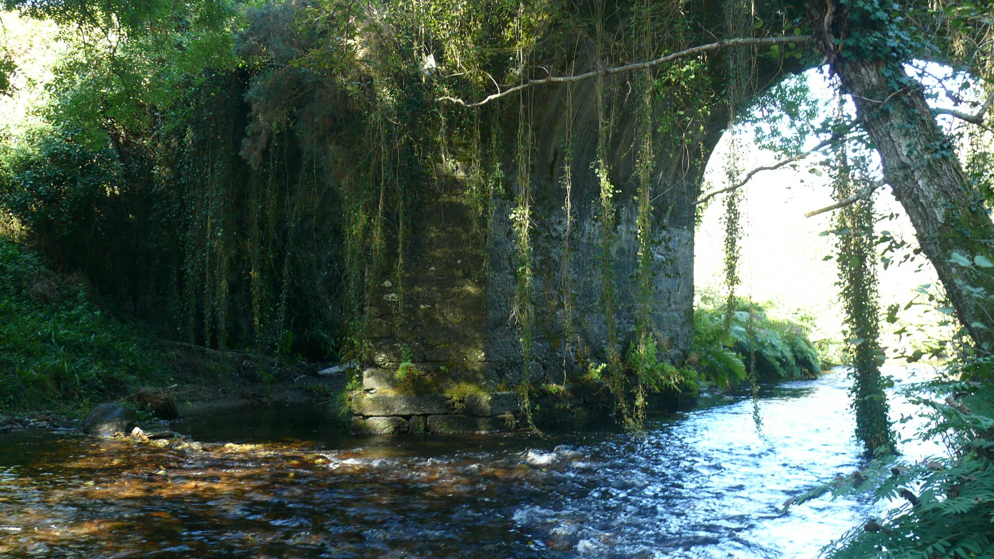 Stone bridge over Mera