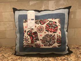 Totems Too Denim Pillow