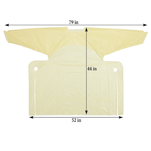 Isolation Gown Level 3 Yellow (case of 50)