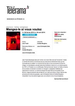 Telerama.fr 26 Février 2014