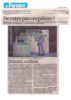 Le Parisien 22 Février 2014