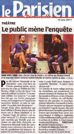 Le Parisien 12.06.11