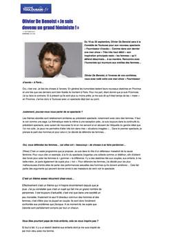 Journal Toulousain 11 Septembre 2013