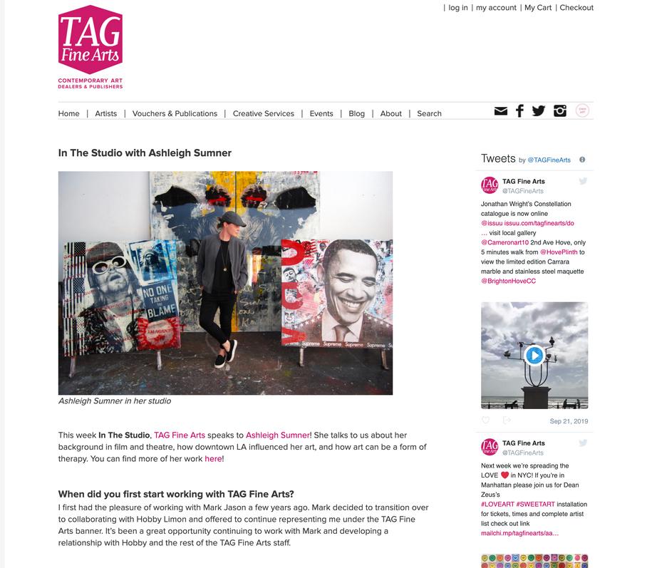 TAG FINE ARTS PUBLISHING