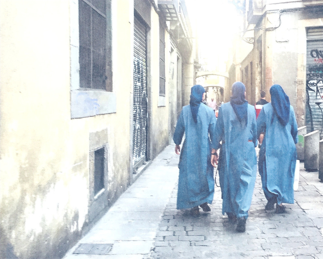 THREE NUNS WALK INTO A BAR