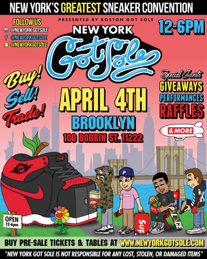 New York Got Soles Takes Over Brooklyn!