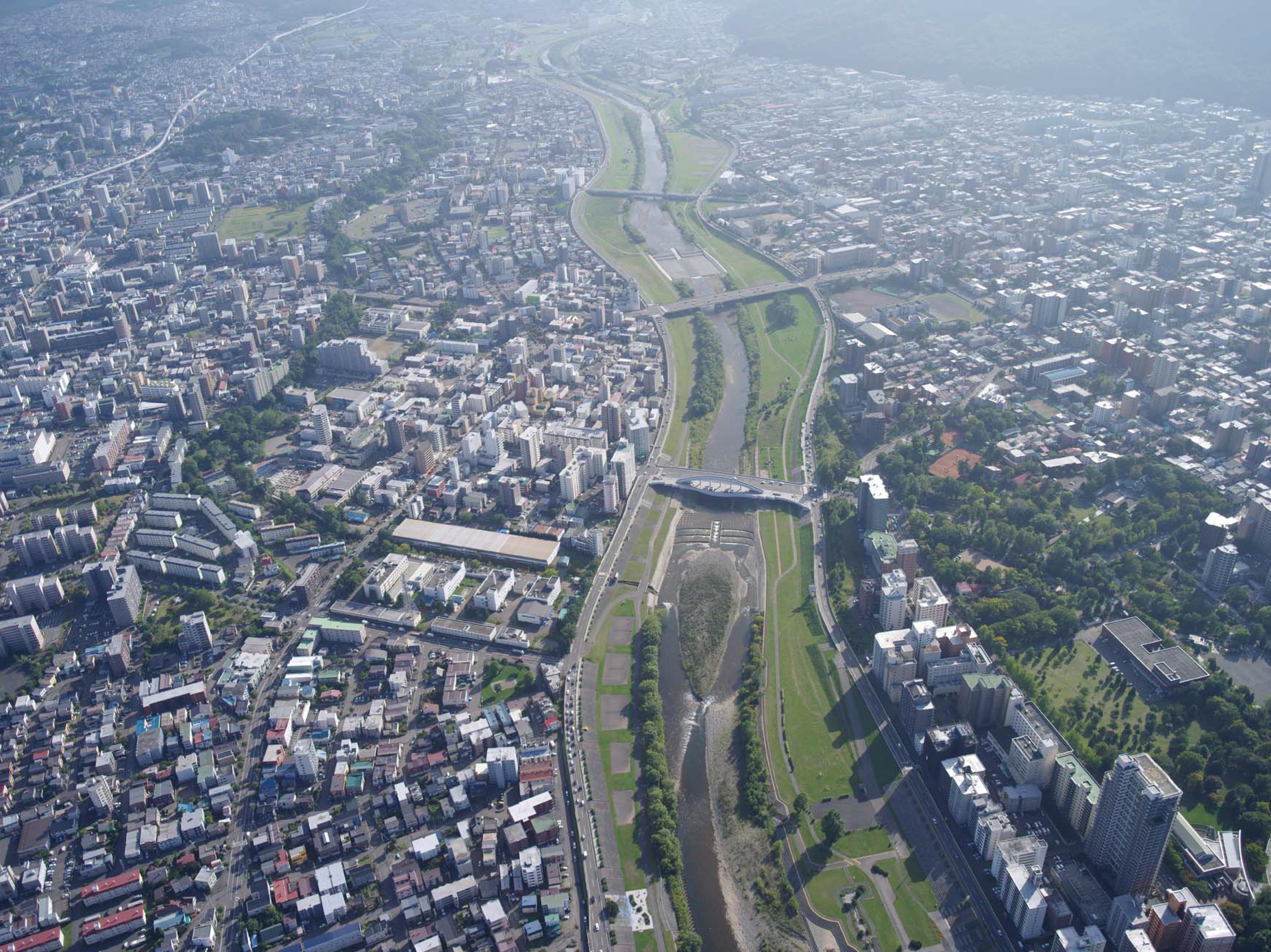 豊平川の洪水・防災・環境 展示ブース(その他展示ブース有)