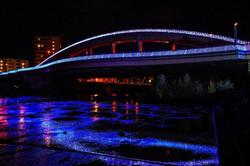 幌平橋ライトアップ