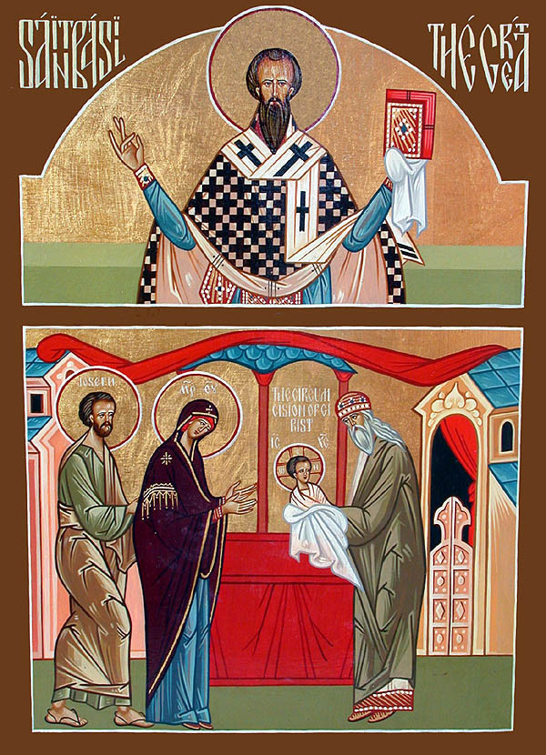 Image result for Circumcision of our Lord and Savior Jesus Christ orthodox icons