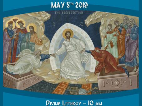 Annual Parish SLAVA celebration
