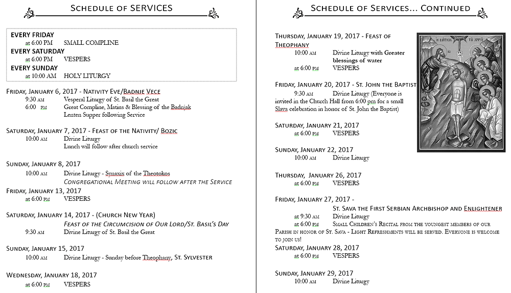 schedule-of-services-for-the-upcoming-month
