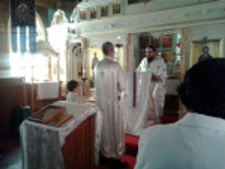 Sunday Holy Liturgy on St. Prophet Elijah