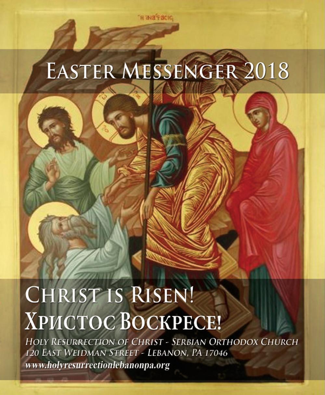 EASTER Messenger COVER 2018 web version