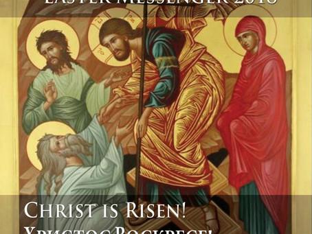 Online version our Parish Easter Messenger 2018