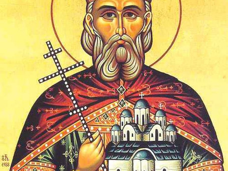The Holy Martyr Lazar, Prince of Serbia