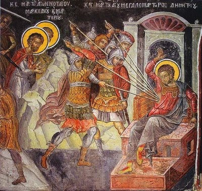 Image result for great martyr demetrius