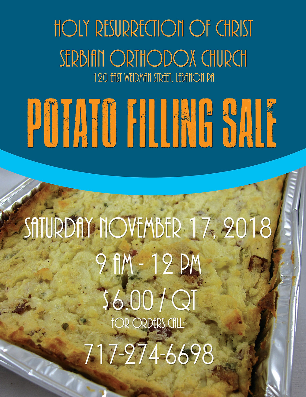 Potato filling sale
