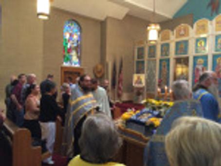 Honoring the Wonderworking Icon of the Theotokos – Hawaiian Iveron Icon at St. Nicholas