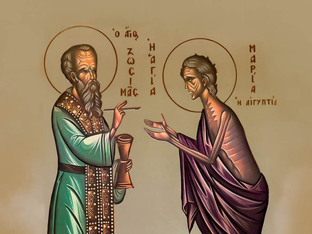 Fifth Sunday of the Great Lent – Venerable Mary of Egypt