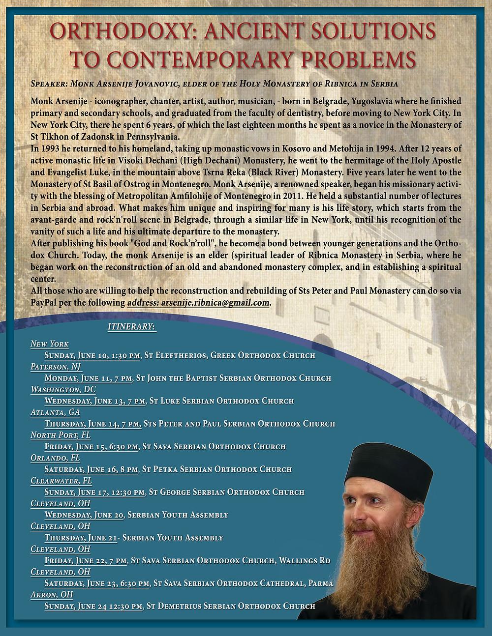 Poster Arsenije english version