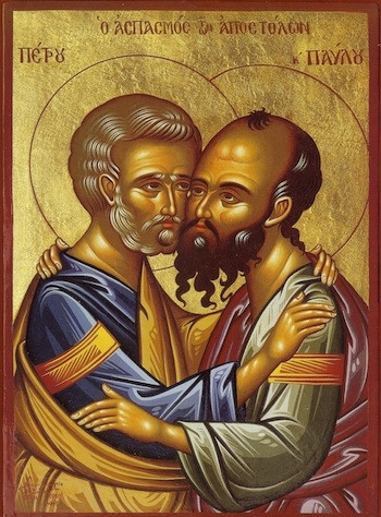 Image result for st peter and paul icons