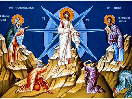 An Interpretation of the Icon of the Transfiguration of the Lord