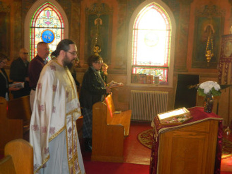 Third Sunday of the Great Lent / Sunday of the Veneration of the Holy Cross
