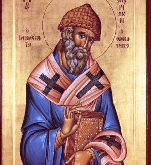 St Spiridon the Wonderworker, Bishop of Tremithus
