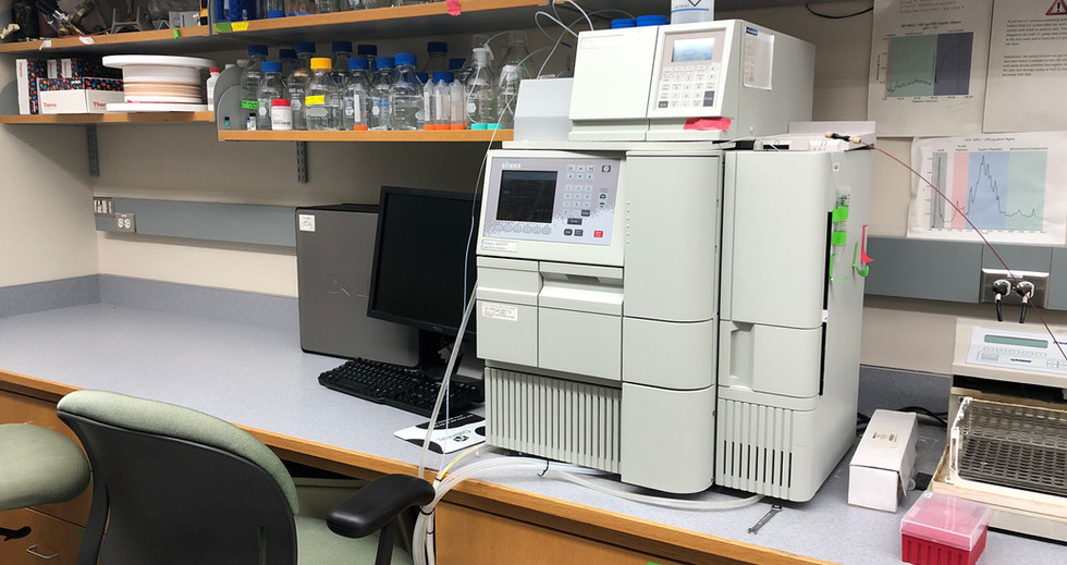 Single and multidimensional fractionation HPLC