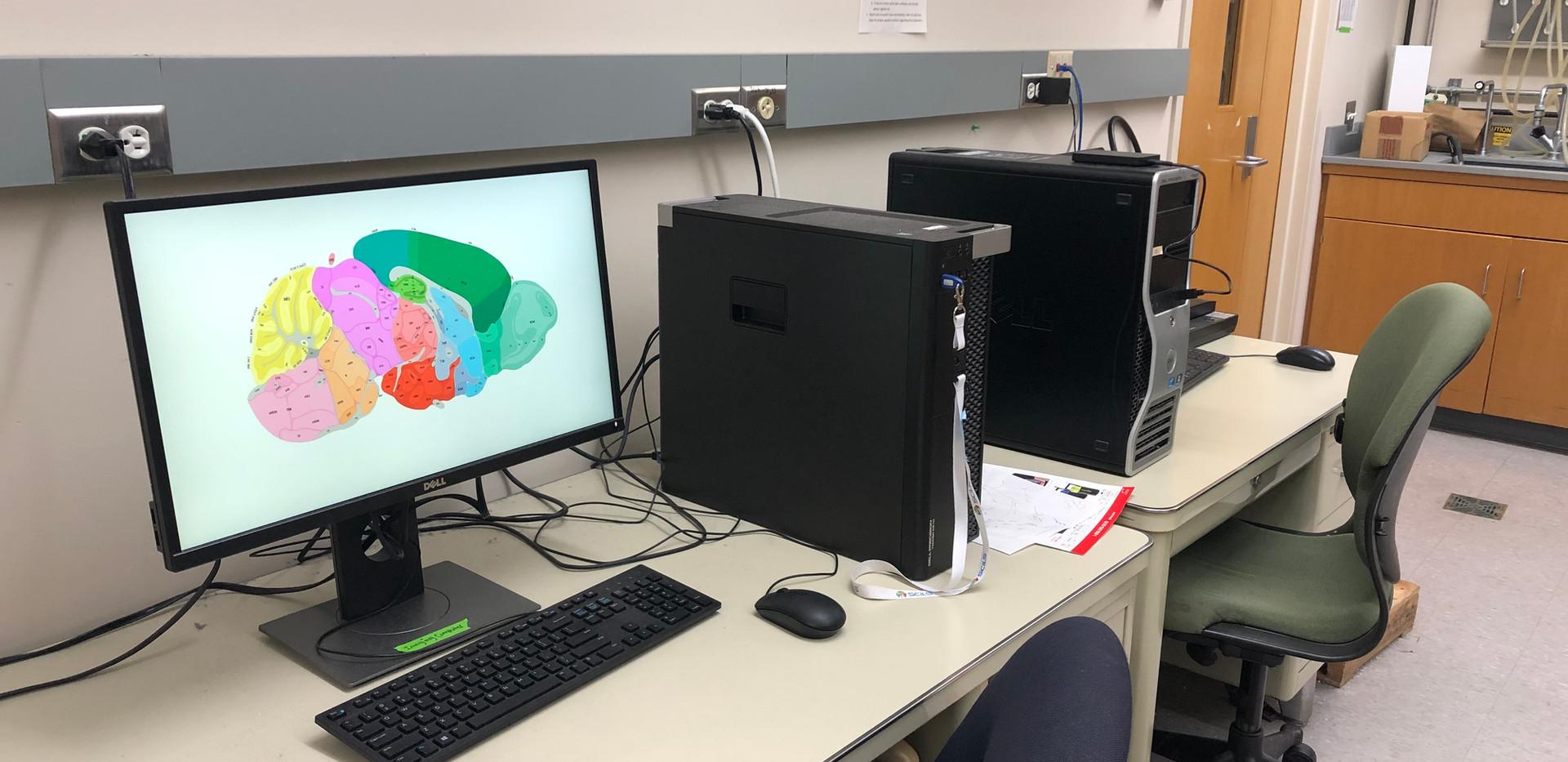 Workstations dedicated for MALDI analysis