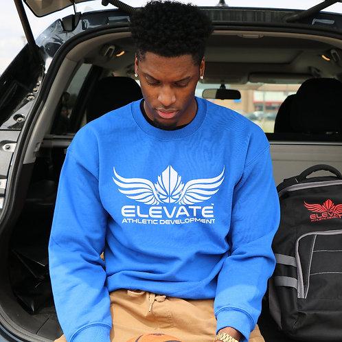 ELEVATE CREWNECK- BLUE