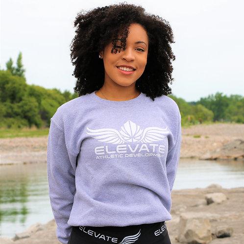 ELEVATE CREWNECK-GREY