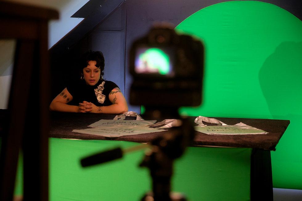 QTVC Live! Founder Julia Arredondo. Photo b TJ Walker.