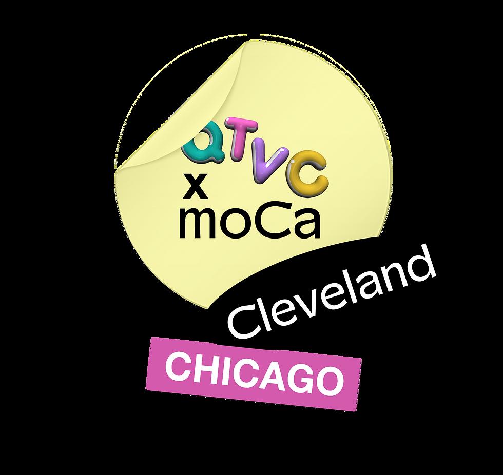 QTVC Live! x moCa Cleveland Collaboration Logo
