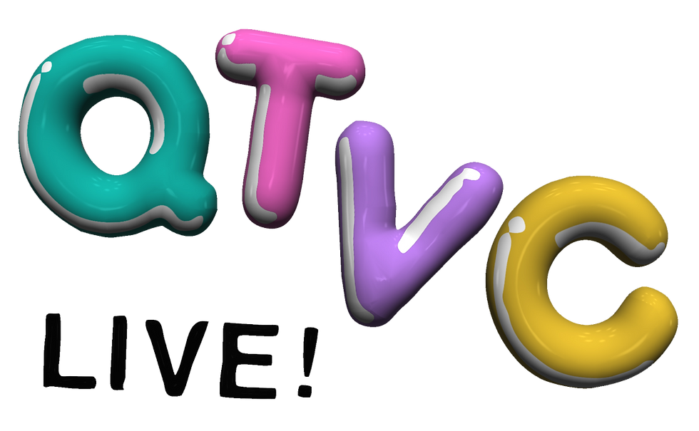 QTVC Live! 3D Logo YourFreakyHome Shopping Channel