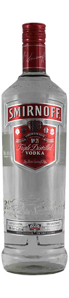 Smirnoff Vodka Triple Distilled 0,7