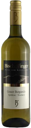 Bischoffinger, Weißer Burgunder Halbtrocken