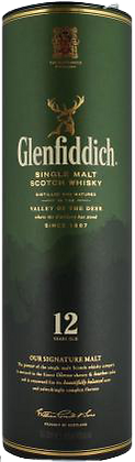 Glendfiddich Single Malt Scotch Whisky 12 Years Old