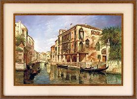 Z SOBRE BASTIDOR TREGUER encanto  veneci