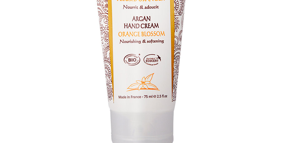 摩洛哥堅果橙花護手霜 Argan Hand Cream - Orange Blossom (75ml)