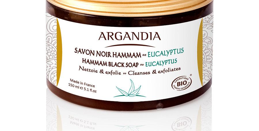 尤加利堅果黑皂 Hammam Black Soap - Eucalyptus (150ml)