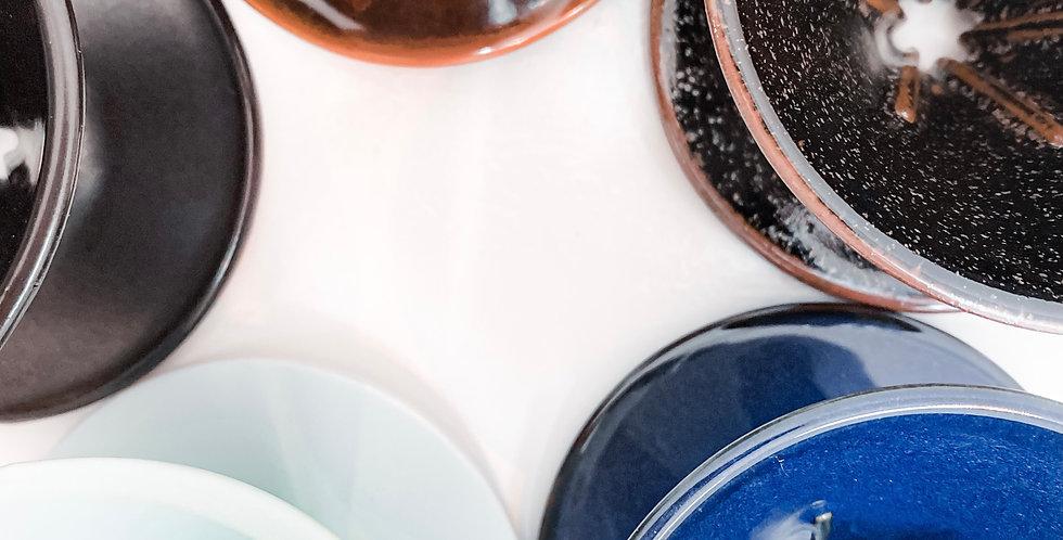 【客噐 . 客氣】 手工陶瓷 手沖咖啡濾杯 (冬暮黑,海洋藍,湛放藍,賞螢綠,玄霧黑)