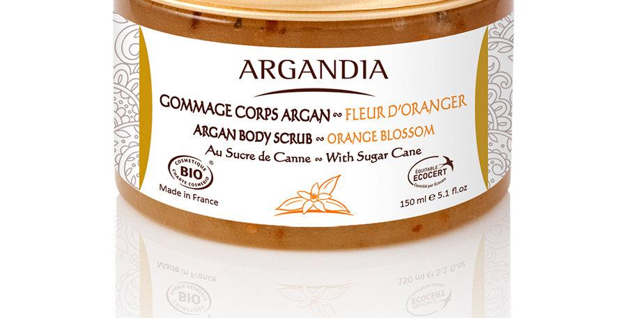 摩洛哥堅果蔗糖橙花身體磨砂膏 Argan Body Scrub - Orange Blossom (150ml)