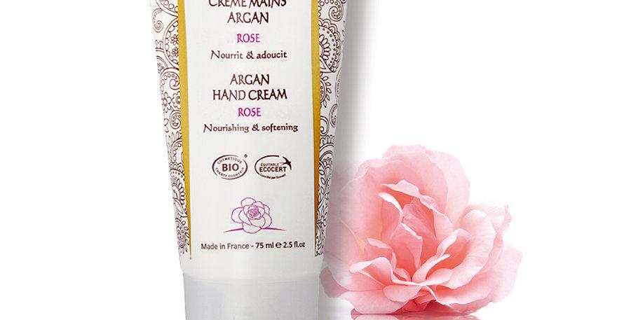 摩洛哥堅果玫瑰護手霜 Argan Hand Cream - Rose (75ml)